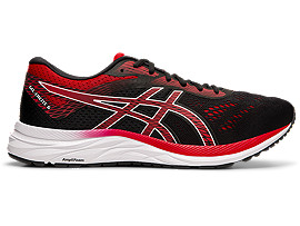 ASICS Gel - Excite? 6 Black / Speed Red Hombre