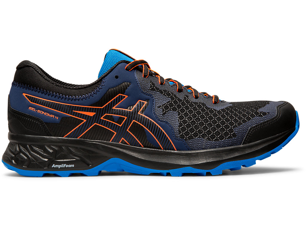 ASICS Gel - Sonoma? 4 Black / Flash Coral Hombre