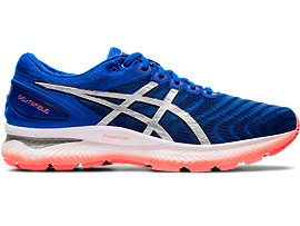 Men's GEL NIMBUS 22 | TUNA BLUEPURE SILVER | Running Shoes