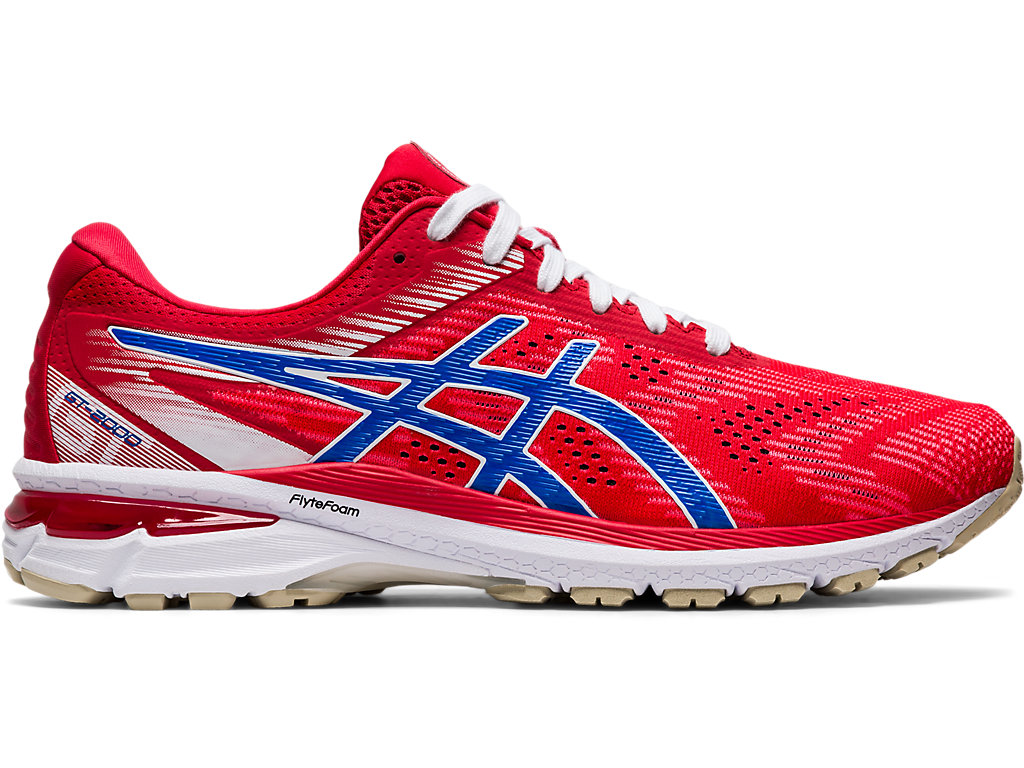 ASICS Gt - 2000? 8 Classic Red / Electric Blue Hombre