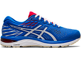 ASICS Gel - Cumulus? 21 Electric Blue / White Hombre