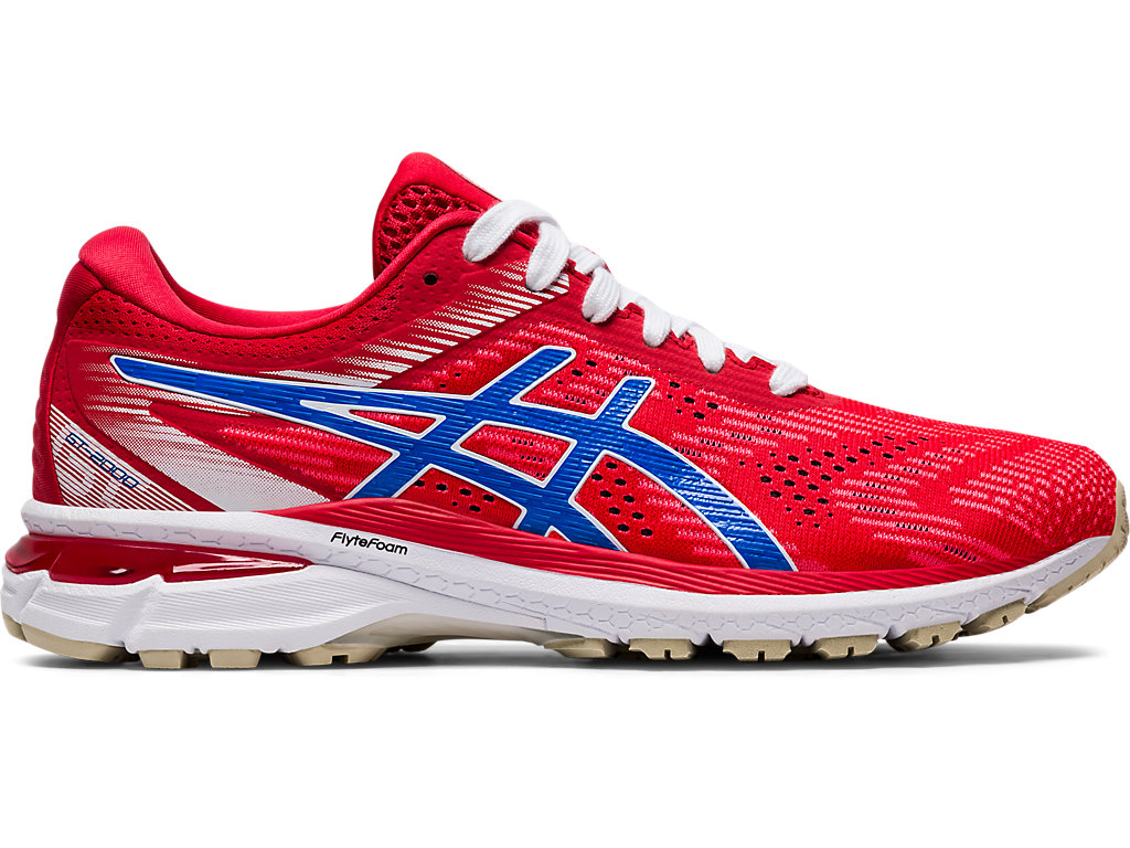 ASICS Gt - 2000? 8 Classic Red / Electric Blue Mujer