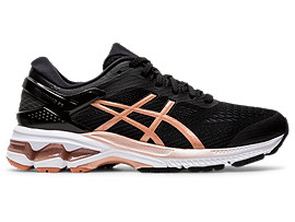 ASICS Gel - Kayano 26 Black / Rose Gold Mujer