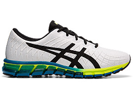ASICS Gel - Quantum 180 4 White / Safety Yellow Hombre