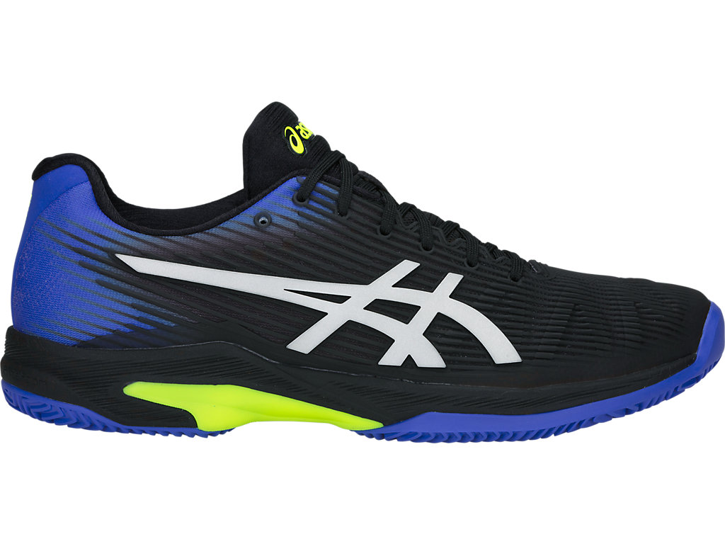 ASICS Solution Speed FF Clay Black / Illusion Blue Hombre