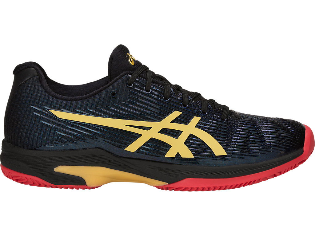 ASICS Solution Speed FF Le Clay Black / Rich Gold Hombre
