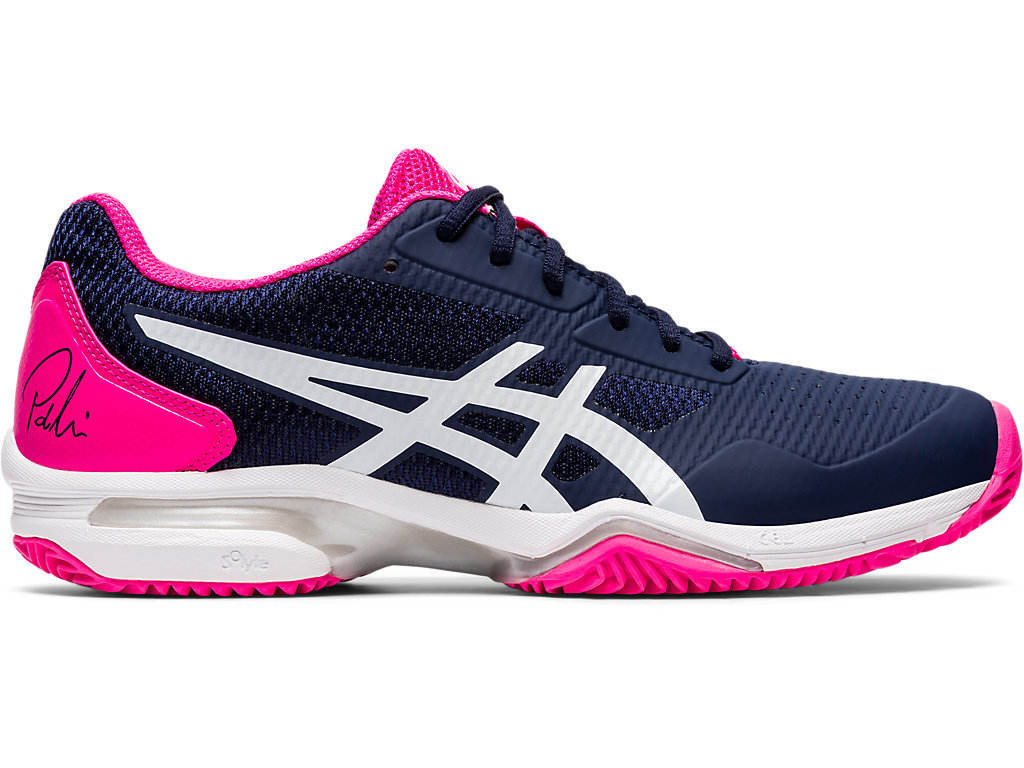 ASICS Gel - Lima? Padel Directoire Blue / Pure Silver Mujer