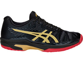 ASICS Solution Speed FF Le Black / Rich Gold Mujer