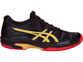 ASICS Solution Speed FF Le Clay Black / Rich Gold Mujer