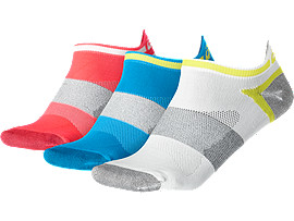 CHAUSSETTE LYTE PACK DE 3 [3PPK LYTE SOCK], Diva Blue Assorted