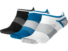 3PPK LYTE SOCK, Thunder Blue Assorted