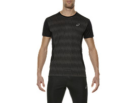 CAMISETA DE MANGA CORTA ELITE, Octagon Performance Black