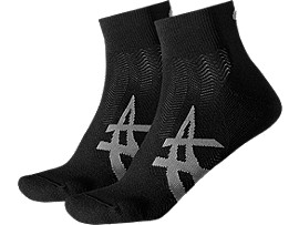 2PPK CUSHIONING SOCK, Performance Black