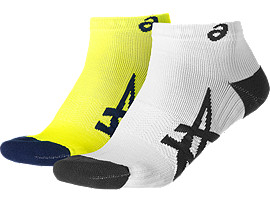 2ER-PACK LEICHTE SOCKEN, Safety Yellow