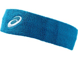 ASICS TERRY HEADBAND, Thunder Blue