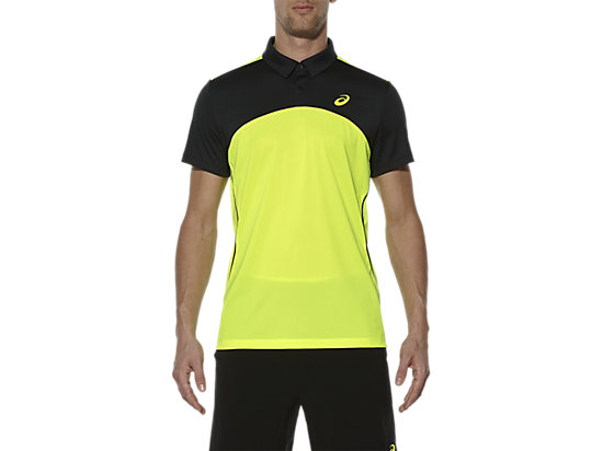 POLO JOUEURS DE PADEL, Safety Yellow