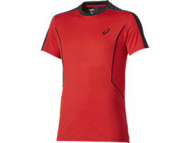 PADEL SS TOP, Fiery Red