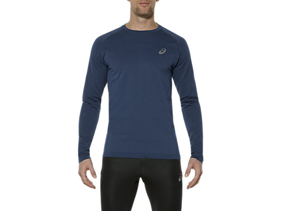 LONG-SLEEVED SEAMLESS TOP,