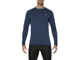LONG-SLEEVED SEAMLESS TOP, Poseidon