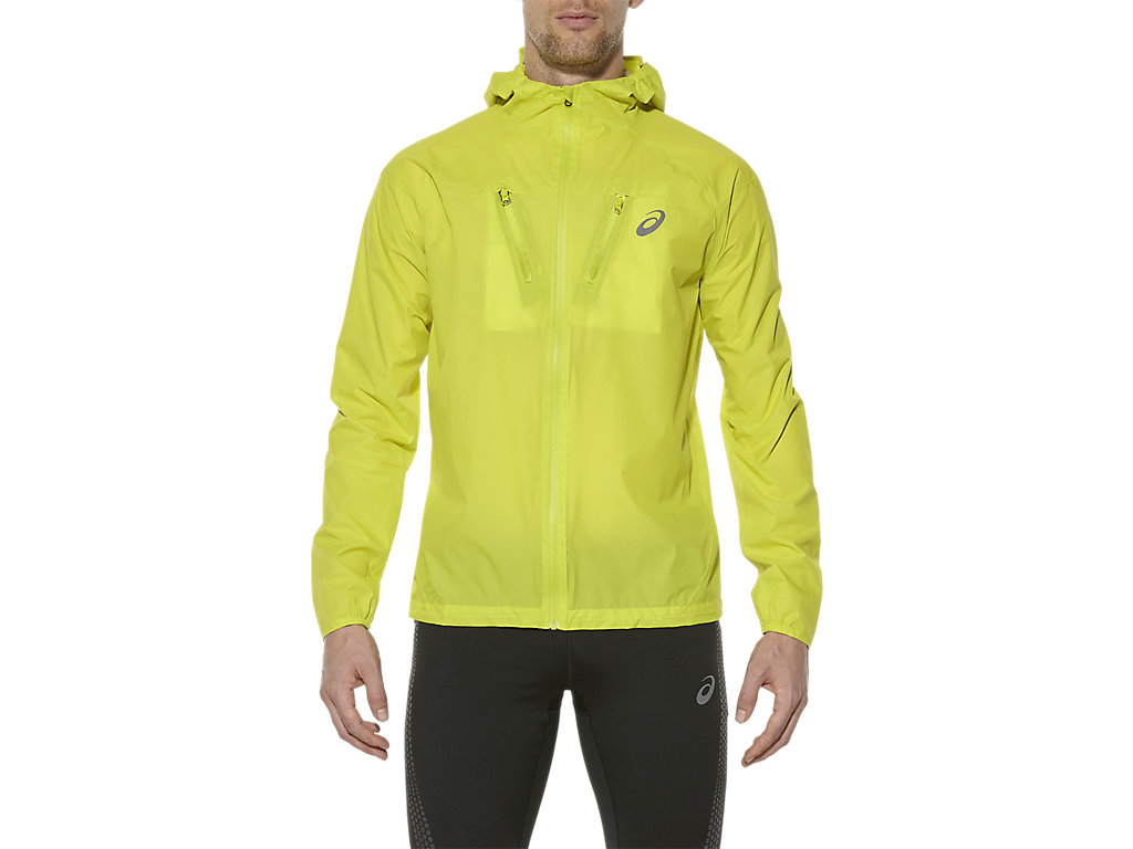 asics waterproof running jacket