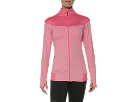 THERMOPOLIS FULL ZIP TOP, Camelion Rose