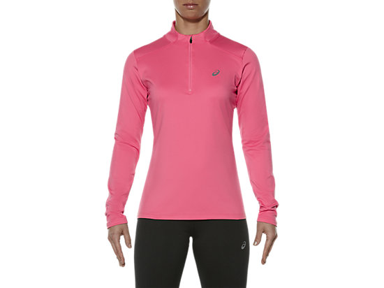 ESS WINTER 1/2 ZIP, Camelion Rose