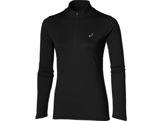 ESS WINTER 1/2 ZIP, Performance Black