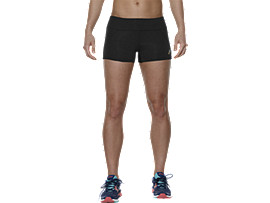 GEBREIDE SHORT VOOR DAMES, Performance Black
