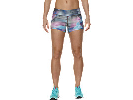 KNIT WOMEN'S SHORTS, Abstract Nuage
