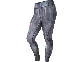 PANTALONI ADERENTI CON GRAFICA, Blk/Wh Abstract Paint