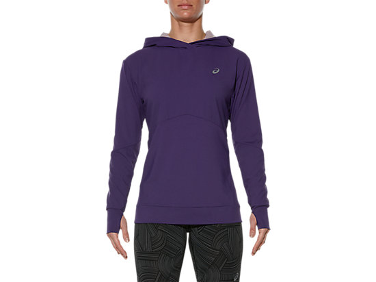 LONG-SLEEVED JERSEY HOODIE, Parachute Purple