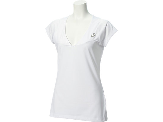 ATHLETE SHORT-SLEEVED TOP, Real White