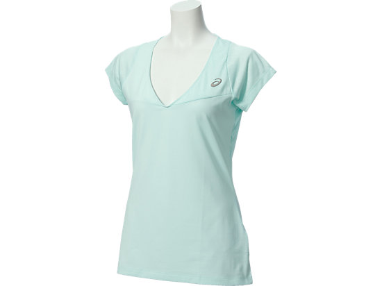 ATHLETE SHORT-SLEEVED TOP, Soothing Sea