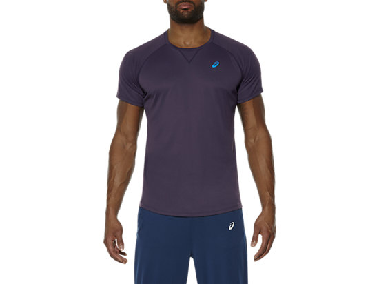 SHORT SLEEVE COOLING TOP, Infinity Purple