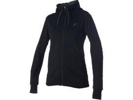 SWEAT TRICOT ZIPPÉ, Performance Black