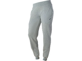 PANTALONES DE CHÁNDAL AJUSTADOS, Heather Grey
