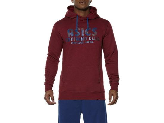TRAINING CLUB HOODIE, Pomegranate