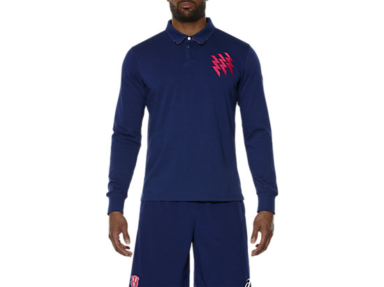 STADE FRANCAIS LONG-SLEEVE JERSEY, Blue Depths