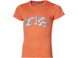 GIRL'S GRAPHIC TOP, Coralicious