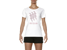 STADE FRANCAIS GRAPHIC TEE, Real White