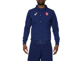 MEN'S STADE FRANCAIS PRESENTATION JACKET, Blue Depths