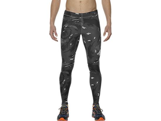 MEN'S GRAPHIC TIGHT, Okinawa Dark Grey