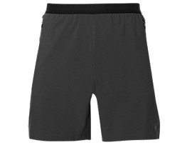 TRAININGSSHORT MET VENTILATIE VOOR HEREN, Dark Grey