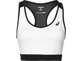RACERBACK BRA, Real White