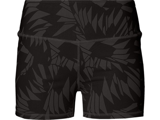 OMKEERBARE HOTSHORT VOOR DAMES, Performance Black