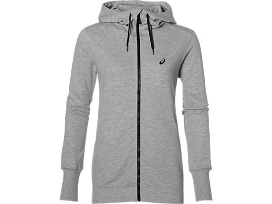 FZ HOODIE, Heather Grey
