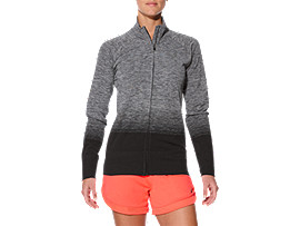 FUZEX SEAMLESS JKT, Performance Black