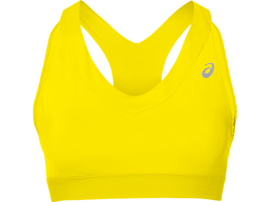 BRASSIÈRE DE RUNNING MAINTIEN MOYEN, Blazing Yellow