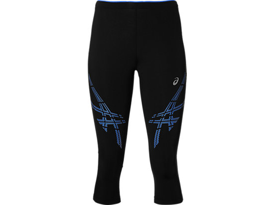 ASICS STRP KNEETIGHT, Performance Black/Blue Purple