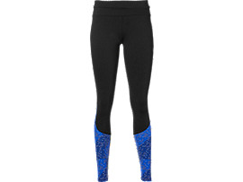 RACE TIGHT, Performance Black/Lite Stripe Blue Purple